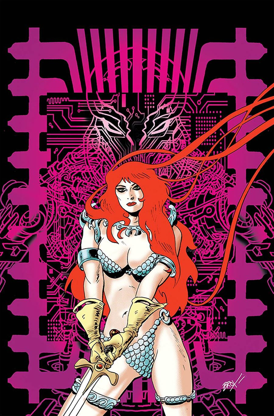 Red Sonja 1982 #1 (One Shot) Cover H Incentive Jonathan Broxton Virgin Cover