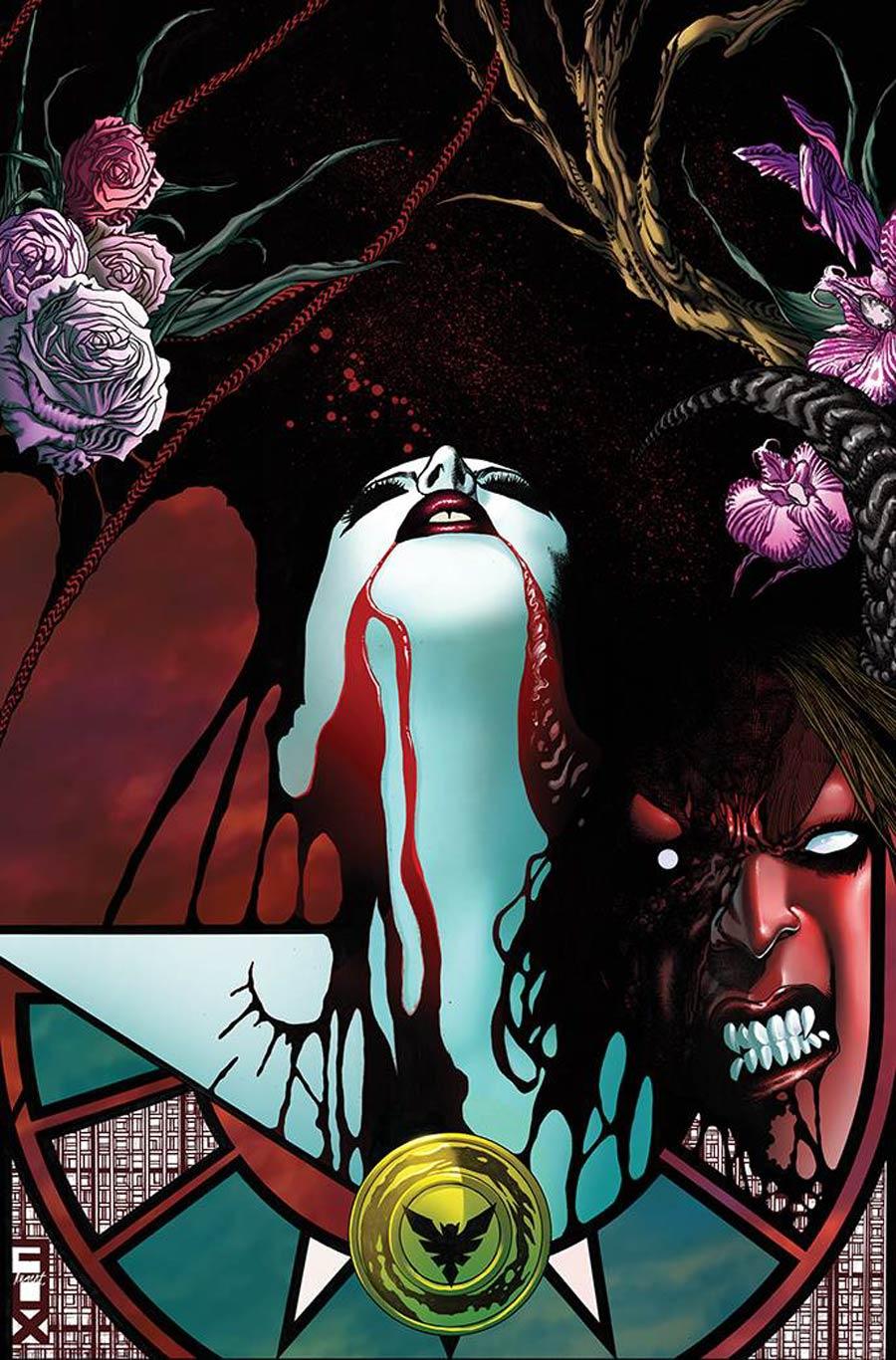 Vampirella vs Purgatori #4 Cover N Incentive Russell Fox Virgin Cover