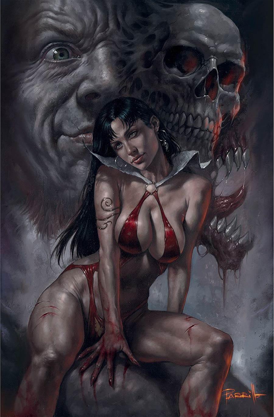 Vampirella Vol 8 #22 Cover L Limited Edition Lucio Parrillo Virgin Cover