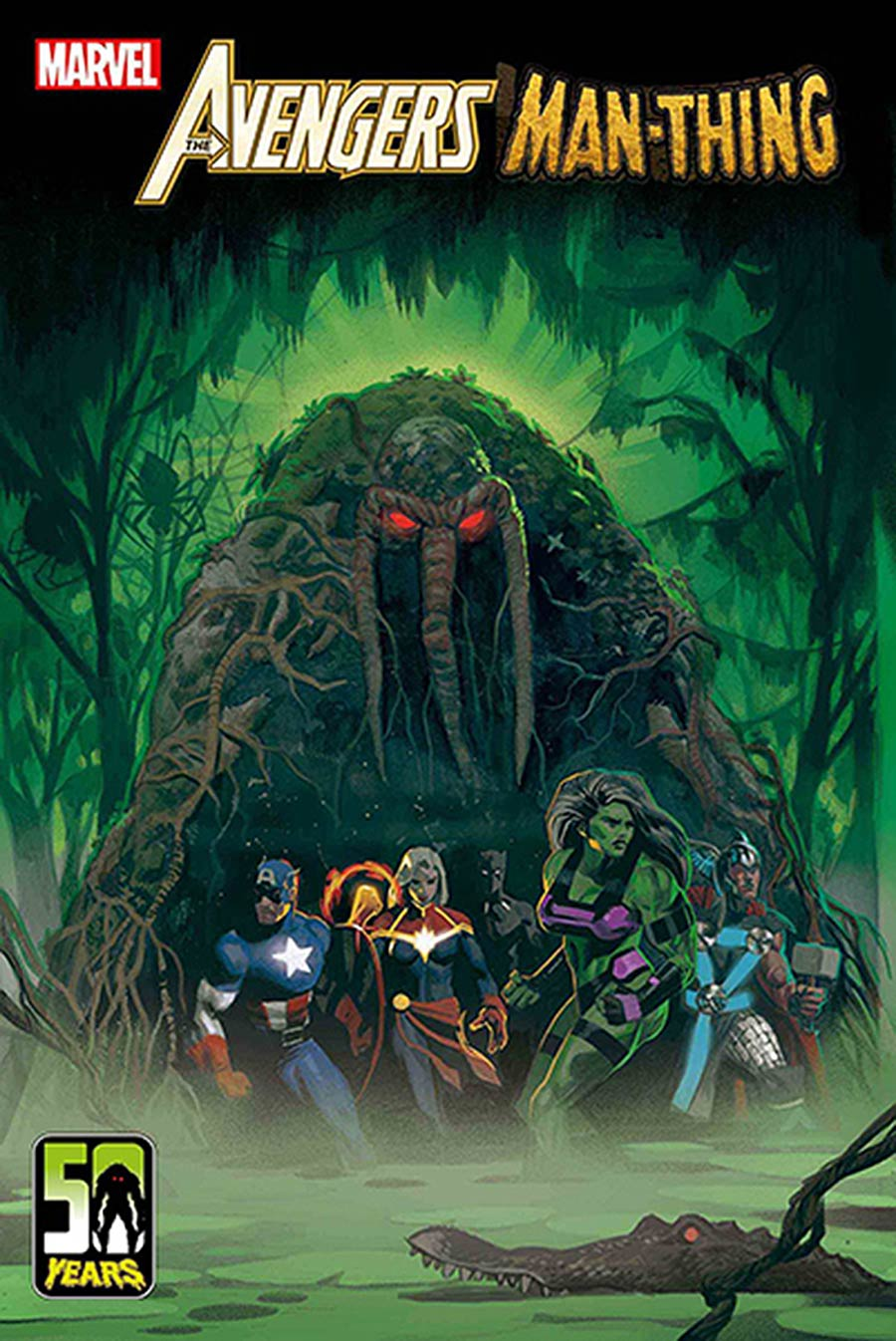 Avengers Curse Of The Man-Thing #1 (One Shot) Cover F DF Signed By Steve Orlando