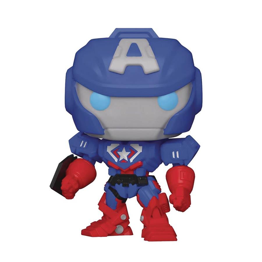 POP Marvel Marvel Mech Captain America Vinyl Bobble Head