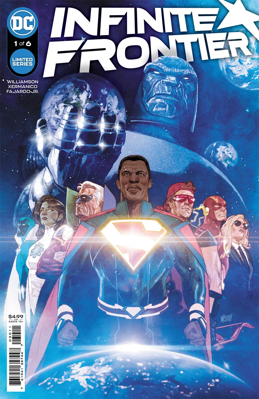 Infinite Frontier #1 Cover A Regular Mitch Gerads Cover