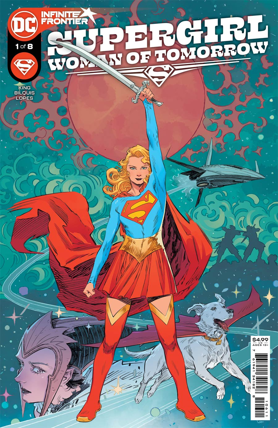 Supergirl Woman Of Tomorrow #1 Cover A Regular Bilquis Evely Cover