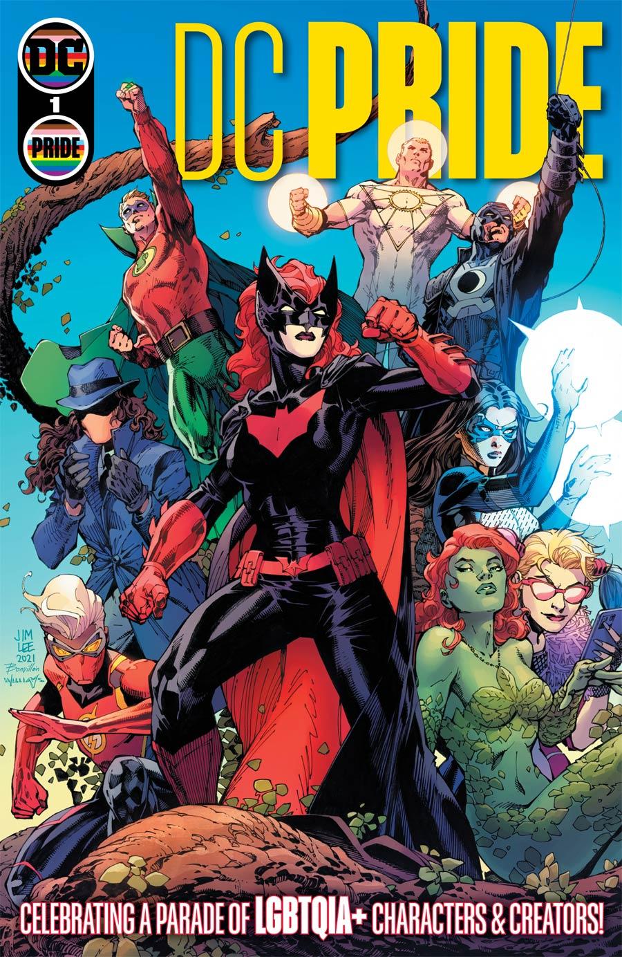 DC Pride #1 (One Shot) Cover A Regular Jim Lee Scott Williams Tamra Bonvillain Cover