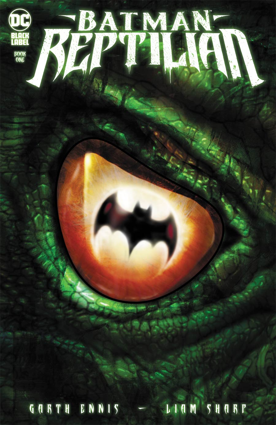 Batman Reptilian #1 Cover A Regular Liam Sharp Cover