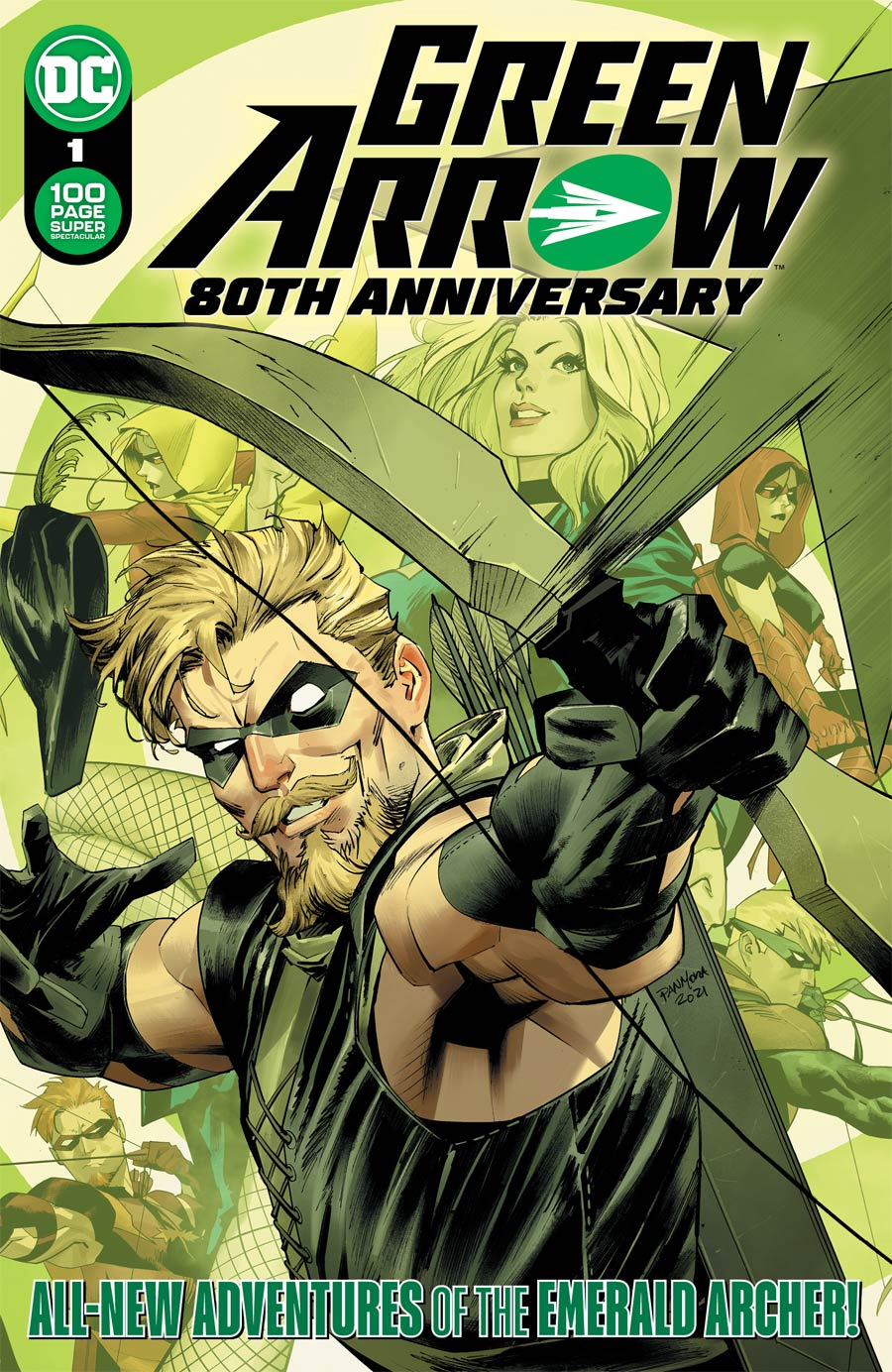 Green Arrow 80th Anniversary 100-Page Super Spectacular #1 (One Shot) Cover A Regular Dan Mora Cover