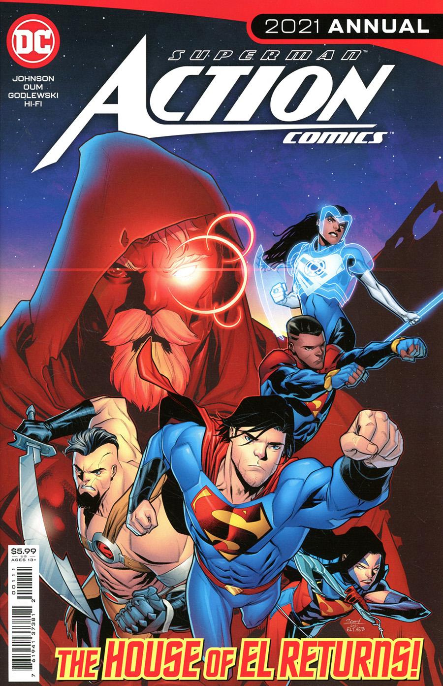 Action Comics Vol 2 Annual 2021 #1 Cover A Regular Scott Godlewski Cover