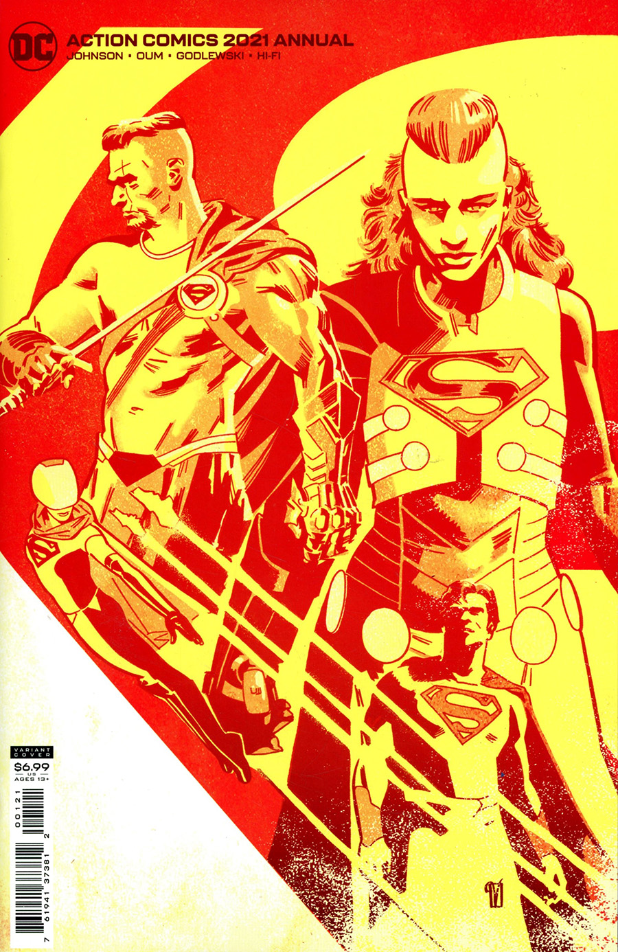 Action Comics Vol 2 Annual 2021 #1 Cover B Variant Valentine De Landro Card Stock Cover