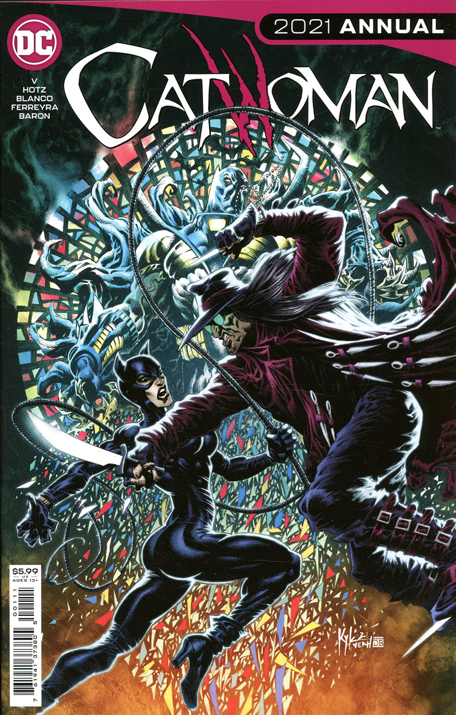Catwoman Vol 5 Annual 2021 #1 Cover A Regular Kyle Hotz Cover