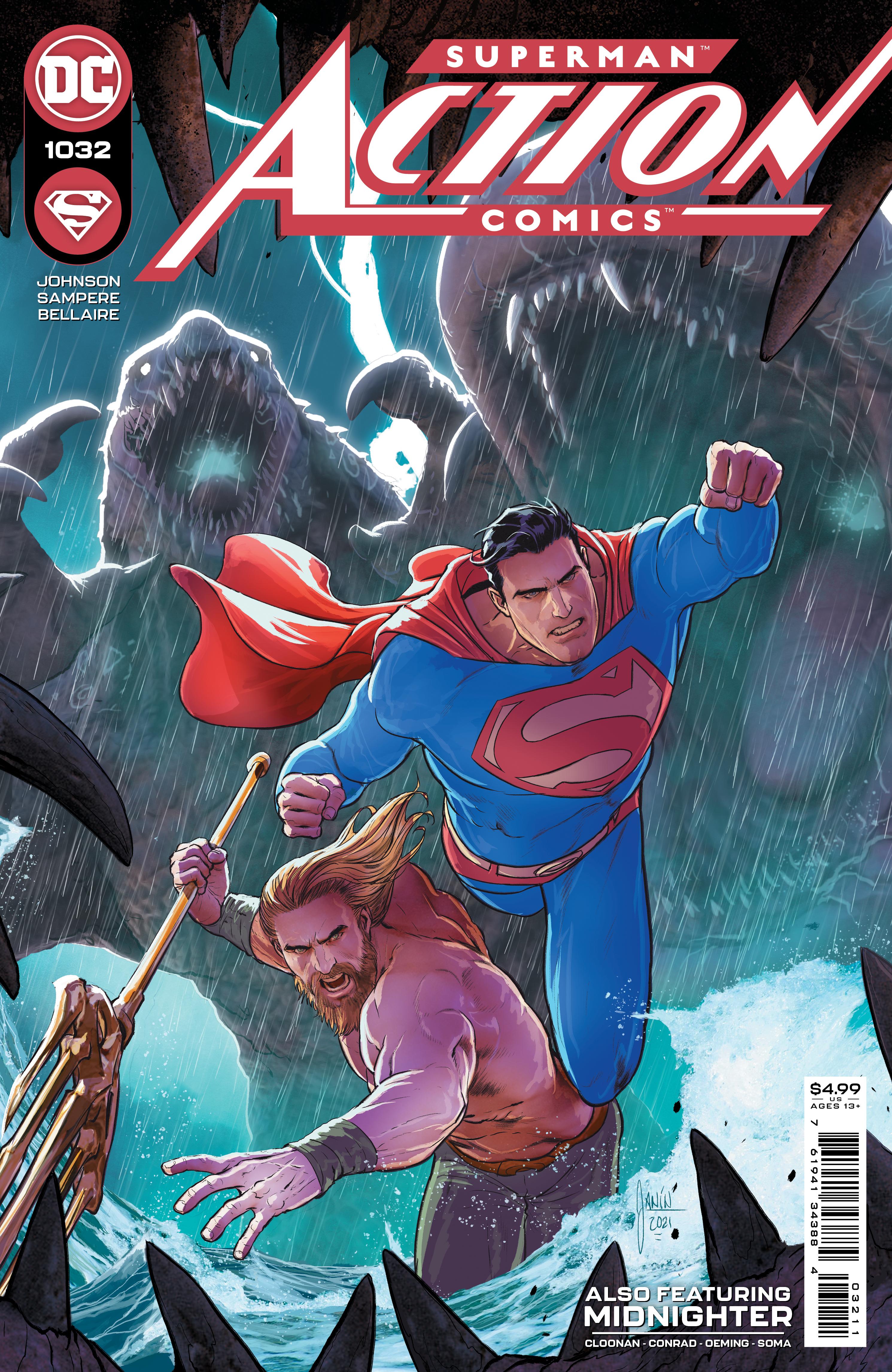 Action Comics Vol 2 #1032 Cover A Regular Mikel Janin Cover
