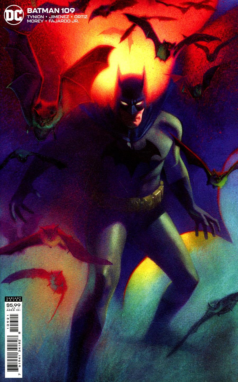 Batman Vol 3 #109 Cover B Variant Joshua Middleton Card Stock Cover
