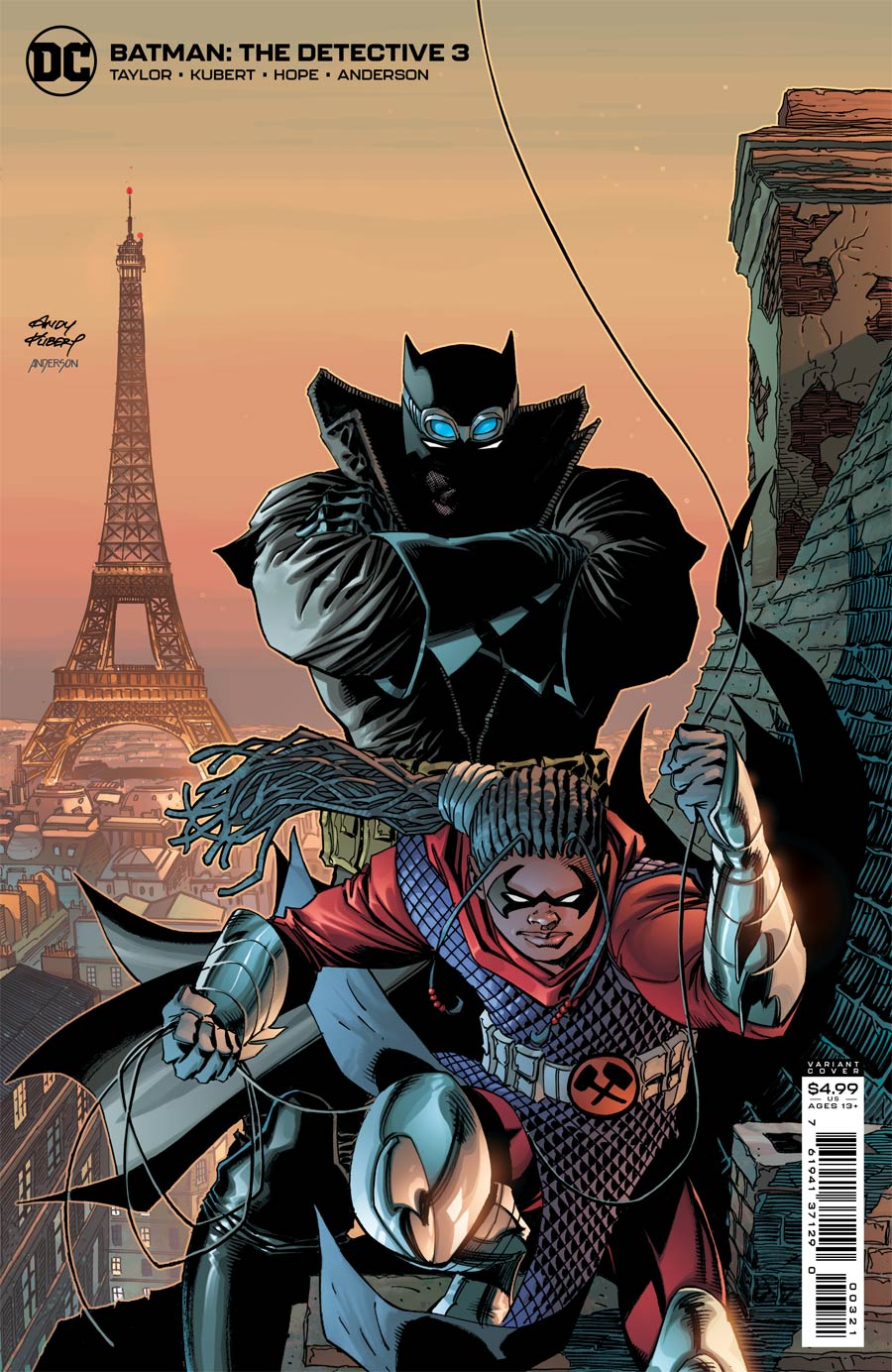 Batman The Detective #3 Cover B Variant Andy Kubert Card Stock Cover