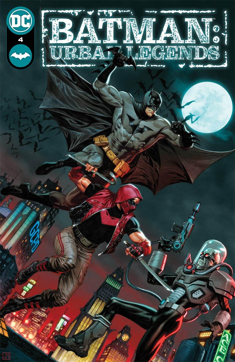Batman Urban Legends #4 Cover A Regular Jorge Molina Cover