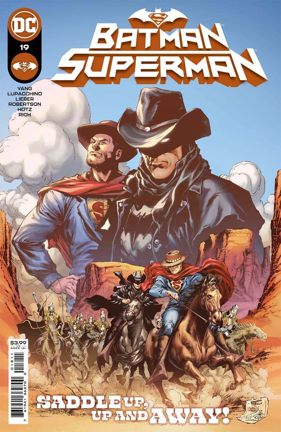 Batman Superman Vol 2 #19 Cover A Regular Ivan Reis Cover