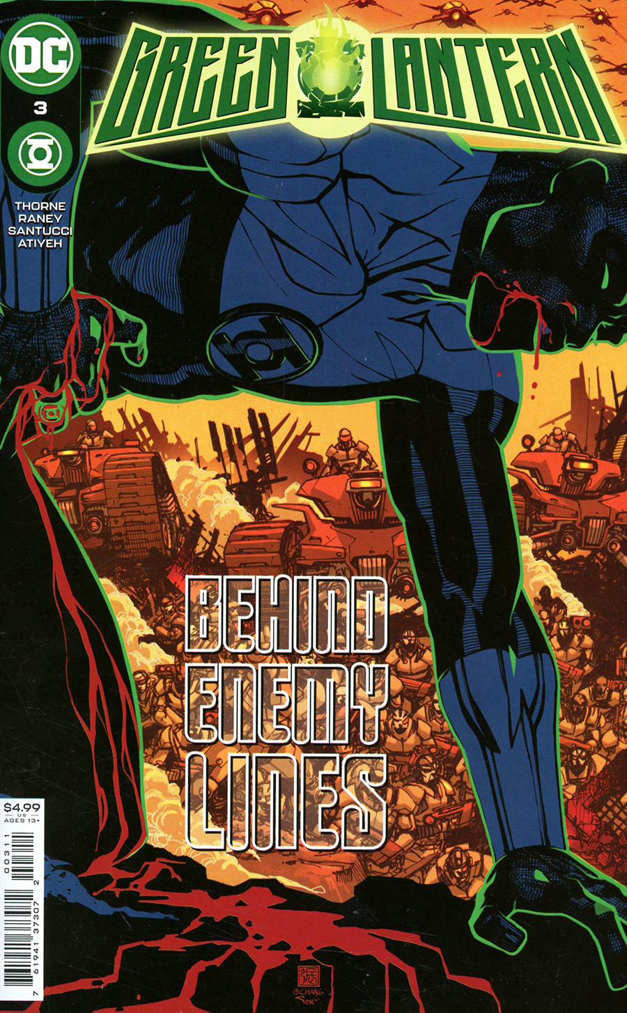 Green Lantern Vol 7 #3 Cover A Regular Bernard Chang Cover