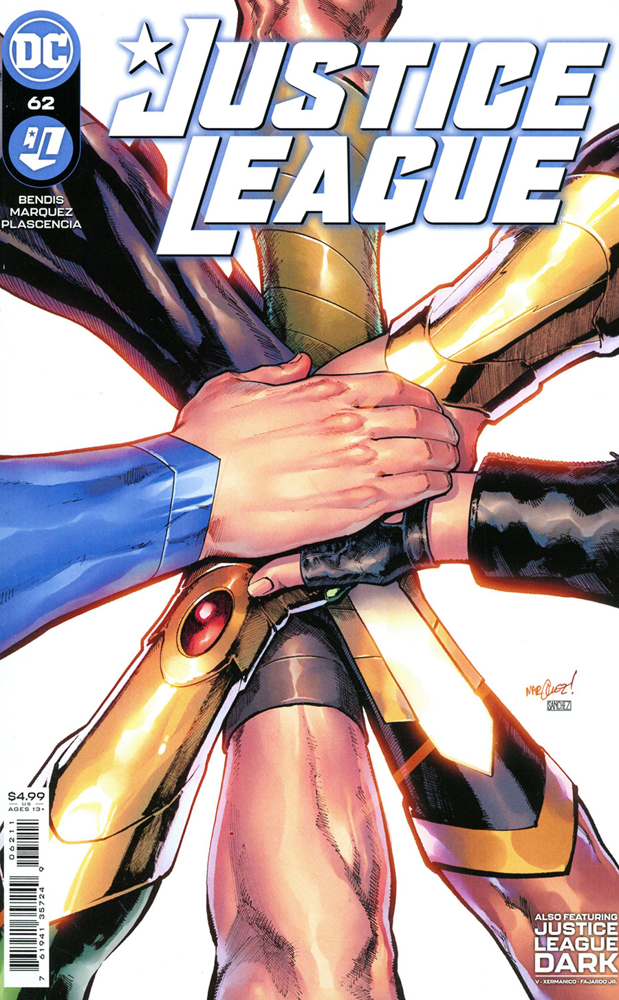 Justice League Vol 4 #62 Cover A Regular David Marquez Cover