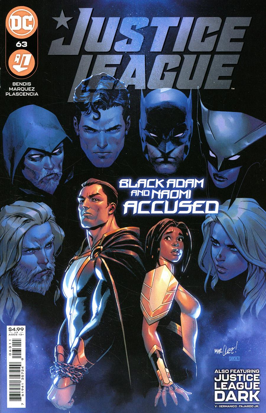 Justice League Vol 4 #63 Cover A Regular David Marquez Cover