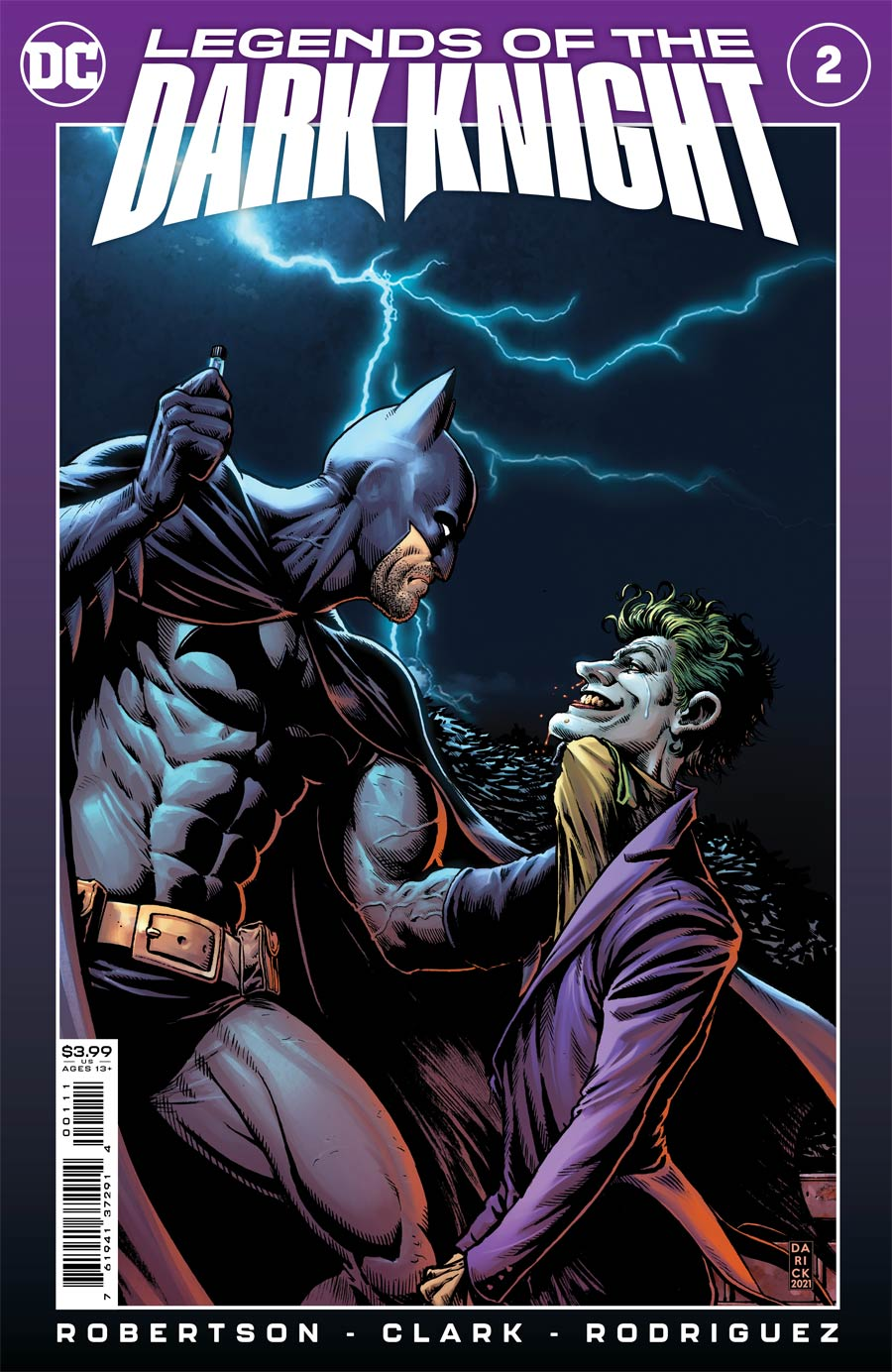 Legends Of The Dark Knight Vol 2 #2 Cover A Regular Darick Robertson & Diego Rodriguez Cover