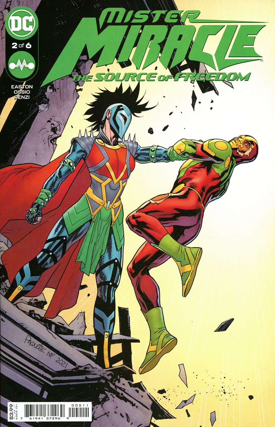 Mister Miracle The Source Of Freedom #2 Cover A Regular Yanick Paquette Cover