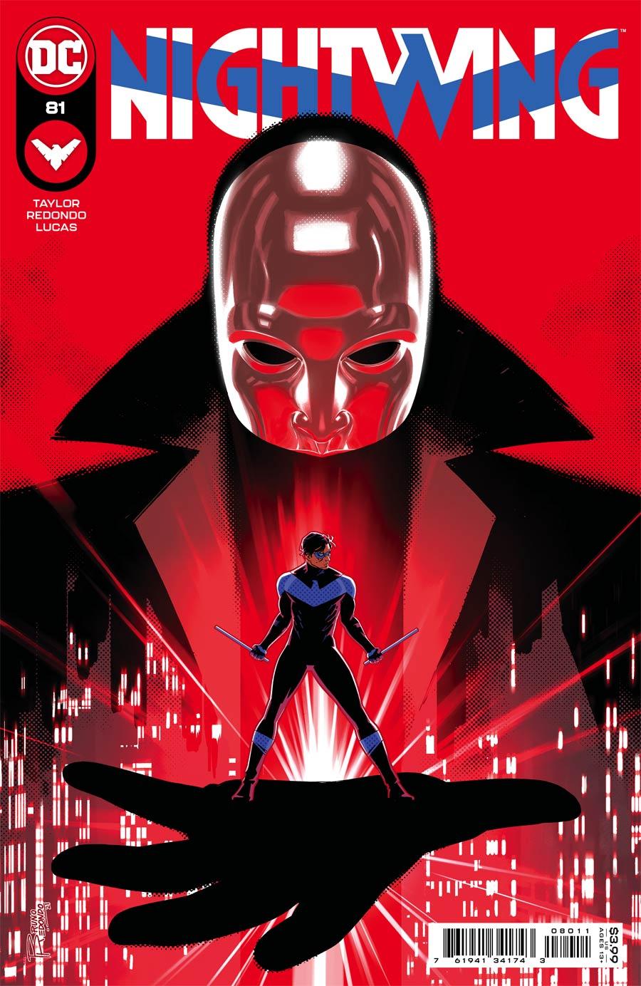 Nightwing Vol 4 #81 Cover A Regular Bruno Redondo Cover (Limit 1 Per Customer)