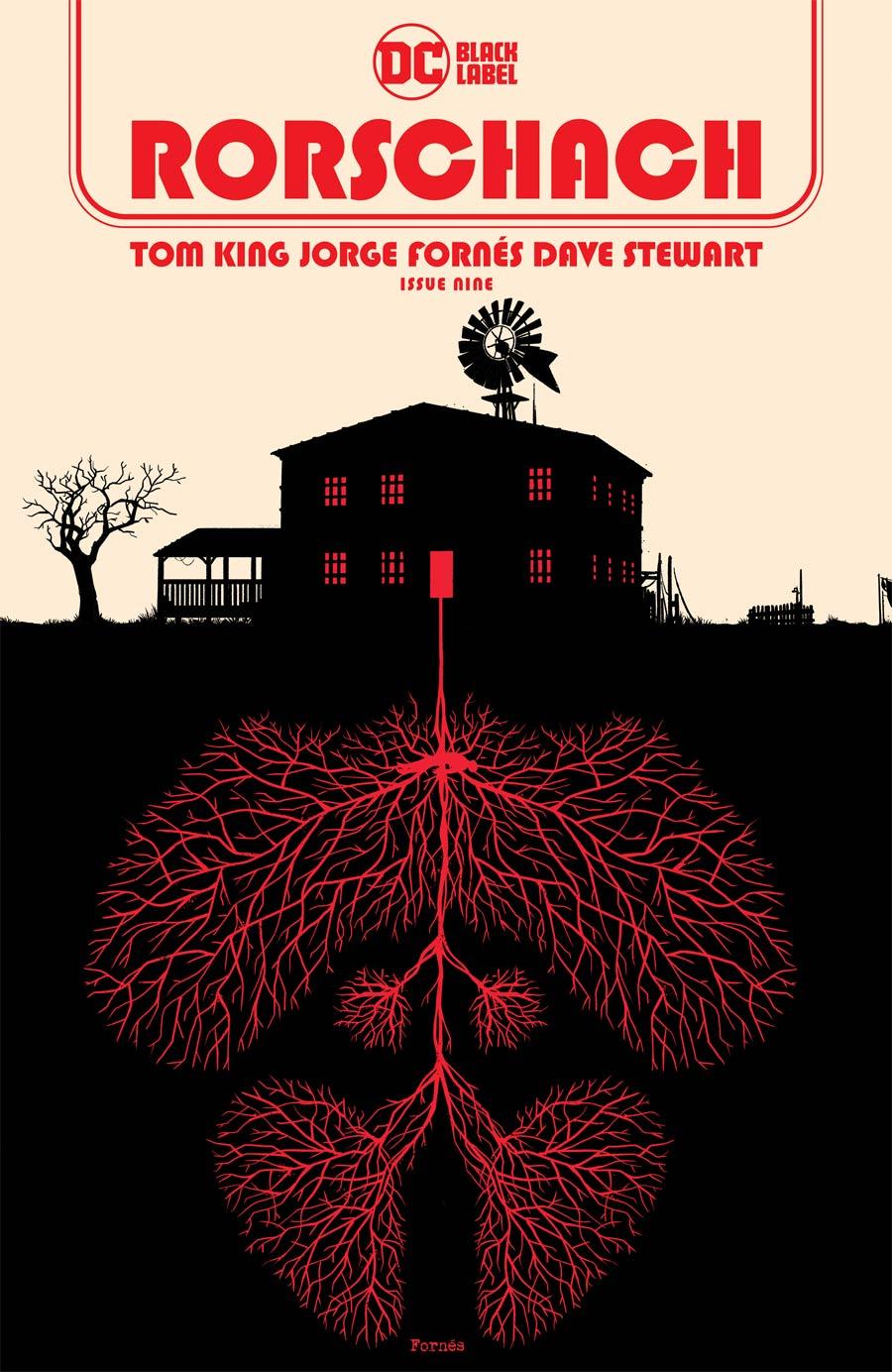 Rorschach #9 Cover A Regular Jorge Fornes Cover