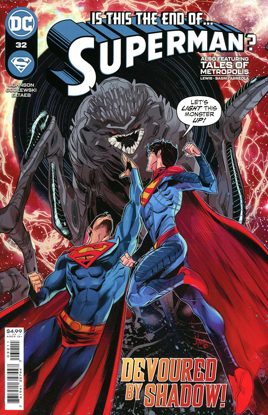 Superman Vol 6 #32 Cover A Regular John Timms Cover
