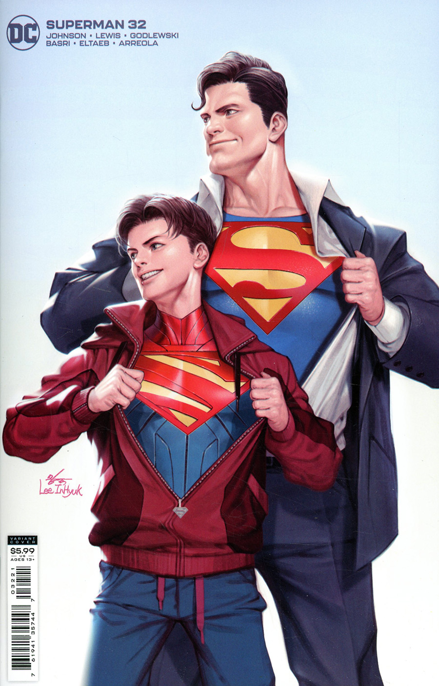 Superman Vol 6 #32 Cover B Variant Inhyuk Lee Card Stock Cover