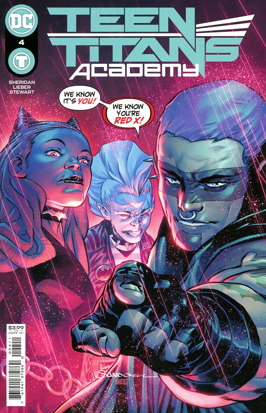 Teen Titans Academy #4 Cover A Regular Rafa Sandoval Cover