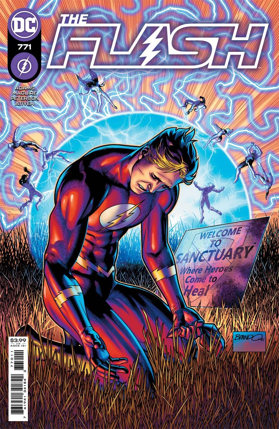Flash Vol 5 #771 Cover A Regular Brandon Peterson Cover