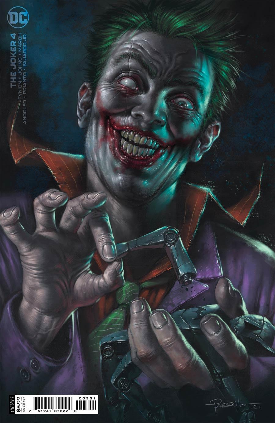 Joker Vol 2 #4 Cover B Variant Lucio Parrillo Cover