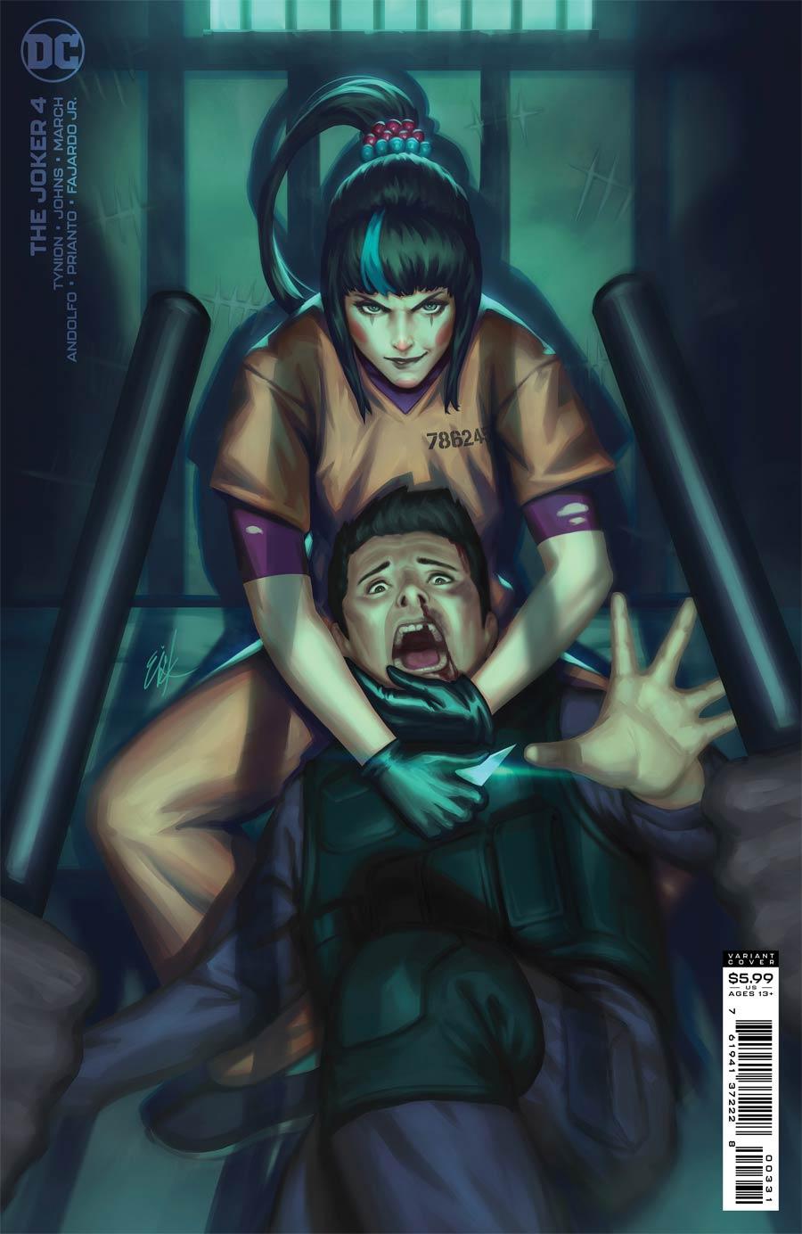 Joker Vol 2 #4 Cover C Variant Ejikure Cover