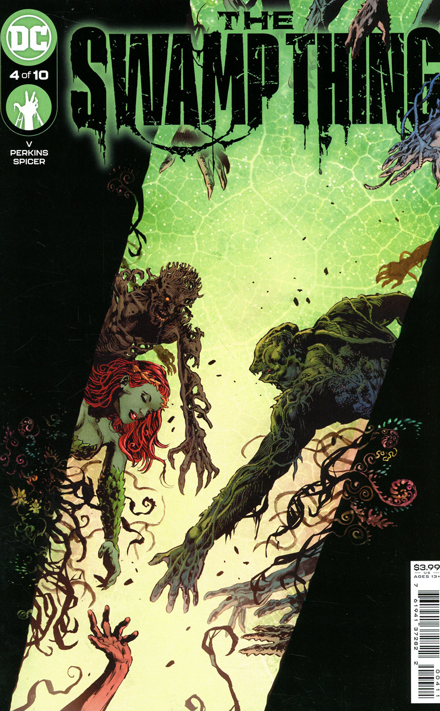 Swamp Thing Vol 7 #4 Cover A Regular Mike Perkins & Mike Spicer Cover