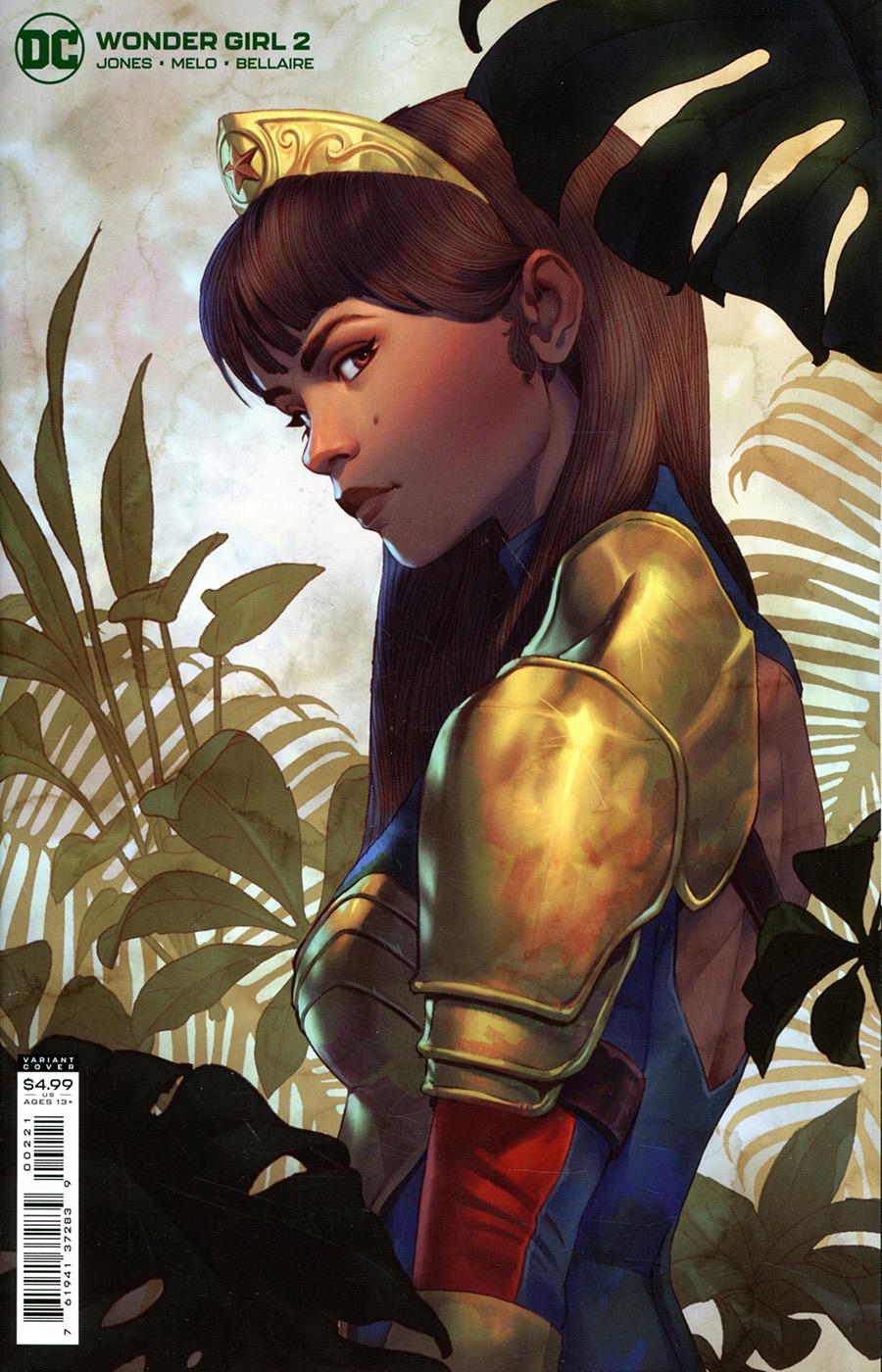 Wonder Girl Vol 2 #2 Cover B Variant Will Murai Card Stock Cover