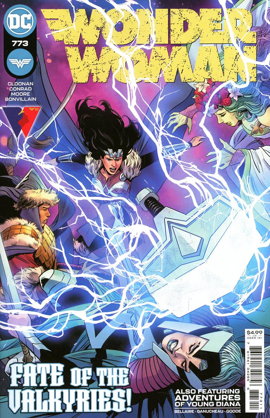 Wonder Woman Vol 5 #773 Cover A Regular Travis Moore Cover