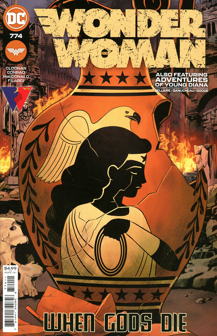 Wonder Woman Vol 5 #774 Cover A Variant Travis Moore Cover