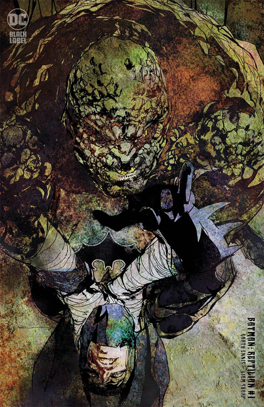 Batman Reptilian #1 Cover C Incentive Bill Sienkiewicz Variant Cover
