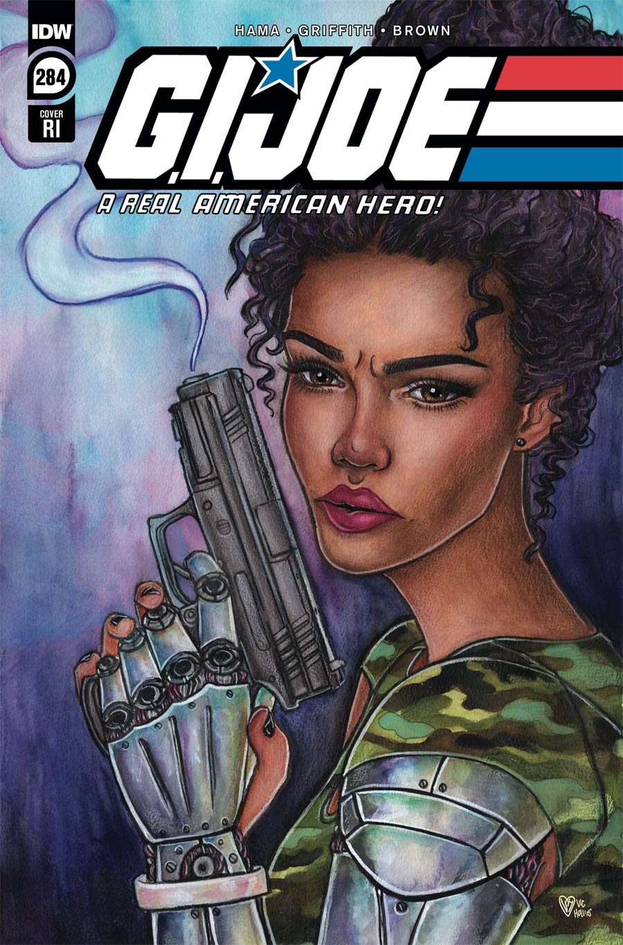 GI Joe A Real American Hero #284 Cover C Incentive Vic Hollins Variant Cover