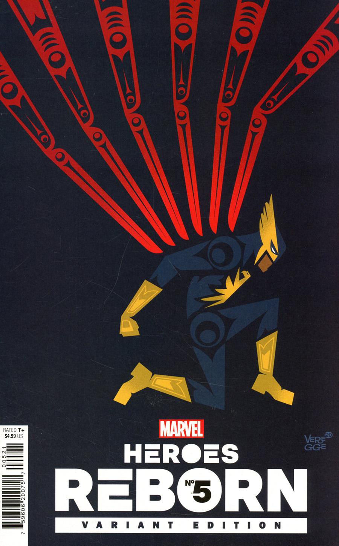 Heroes Reborn #5 Cover F Incentive Jeffrey Veregge Variant Cover