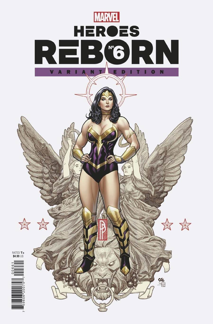 Heroes Reborn #6 Cover E Incentive Frank Cho Variant Cover
