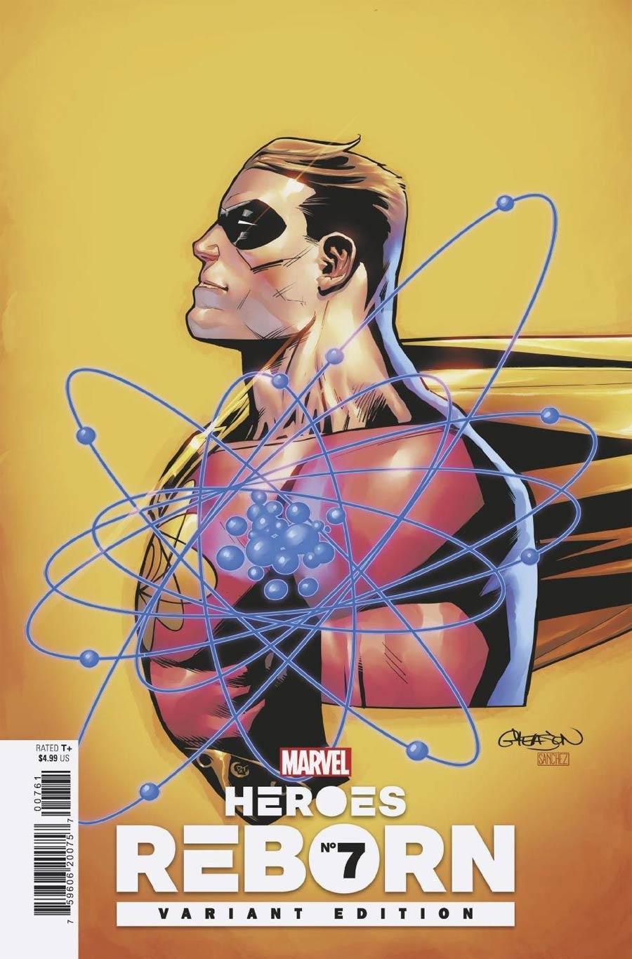 Heroes Reborn #7 Cover E Incentive Patrick Gleason Variant Cover