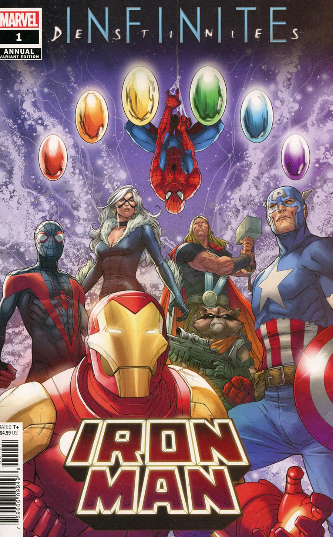 Iron Man Vol 6 Annual #1 Cover E Incentive Ibraim Roberson Promo Variant Cover (Infinite Destinies Tie-In)