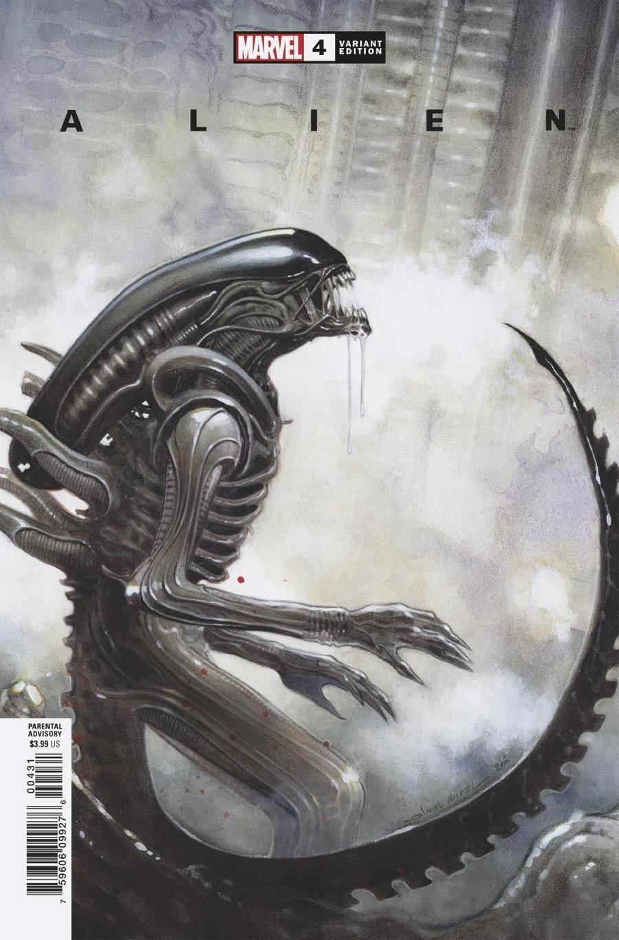 Alien #4 Cover C Incentive Olivier Coipel Variant Cover