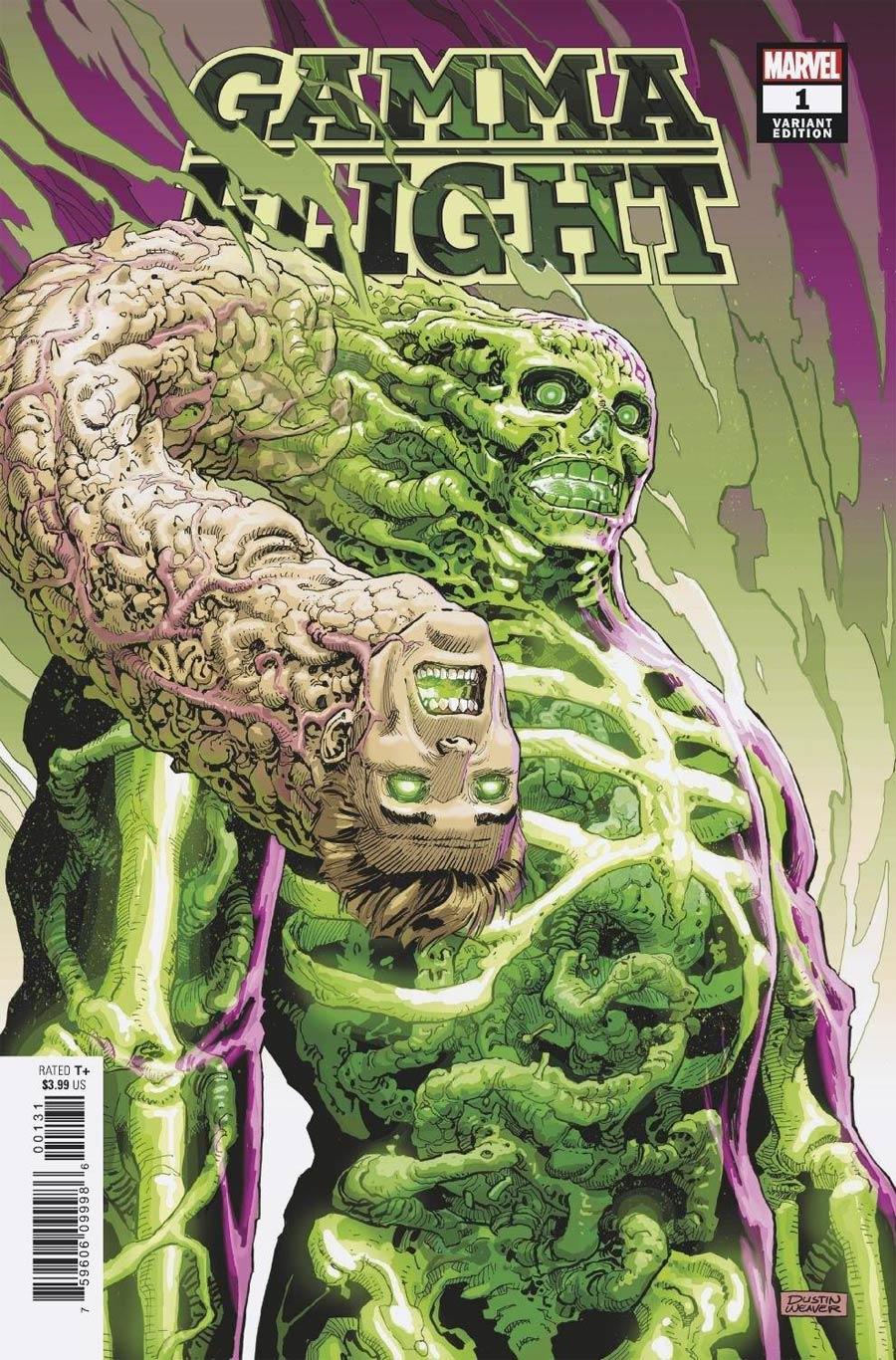 Gamma Flight #1 Cover E Incentive Dustin Weaver Variant Cover