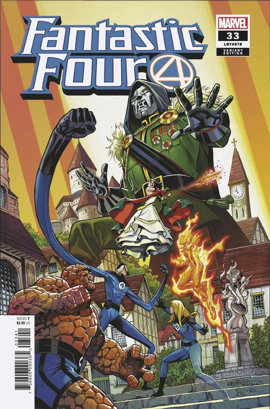 Fantastic Four Vol 6 #33 Cover D Incentive Carlos Pacheco Variant Cover
