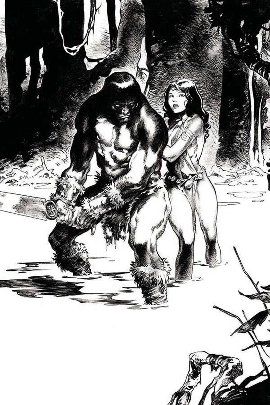 Cimmerian Iron Shadows In The Moon #3 Cover E Incentive Virginie Augustin Virgin Cover