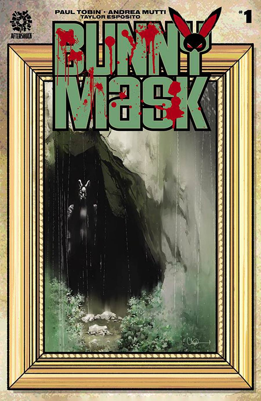 Bunny Mask #1 Cover C Incentive Charlie Adlard Variant Cover