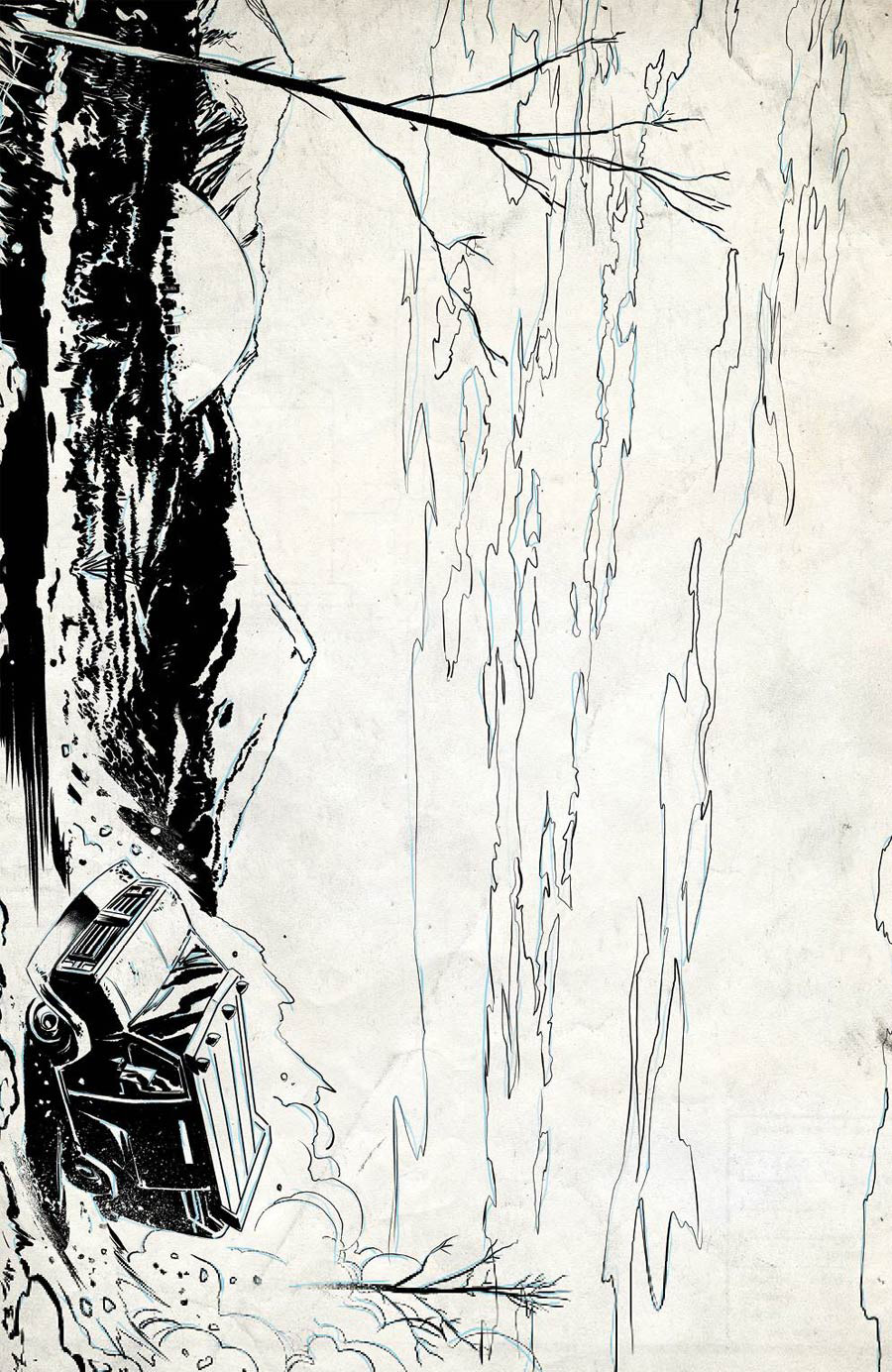 Crossover #5 Cover D Incentive Geoff Shaw Raw Cover