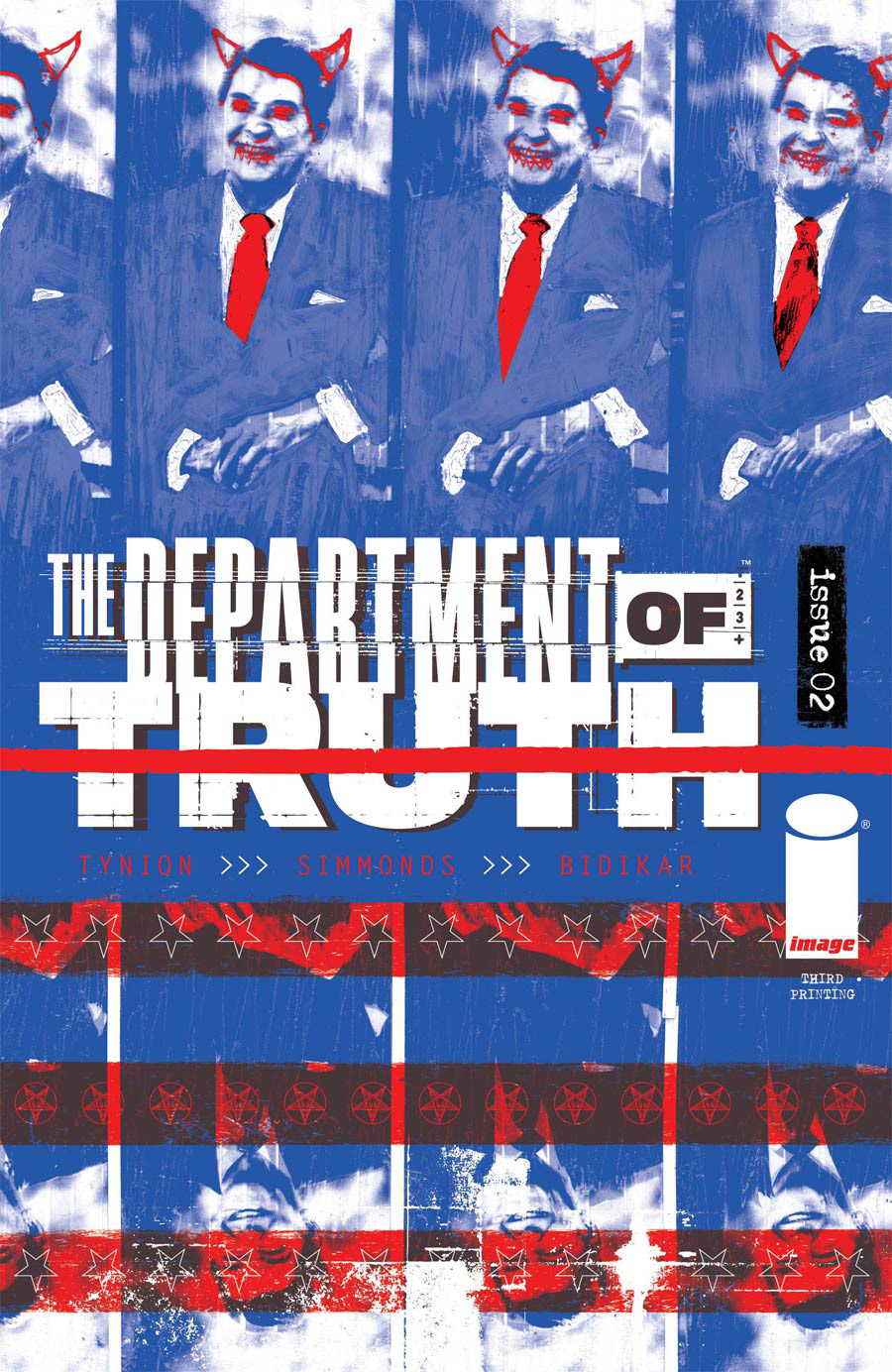 Department Of Truth #2 Cover I 3rd Ptg