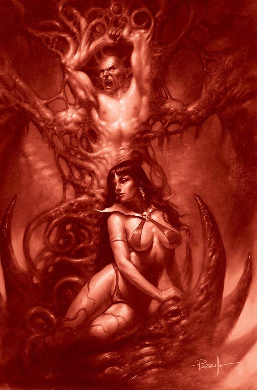 Vengeance Of Vampirella Vol 2 #16 Cover N Incentive Lucio Parrillo Tint Virgin Cover