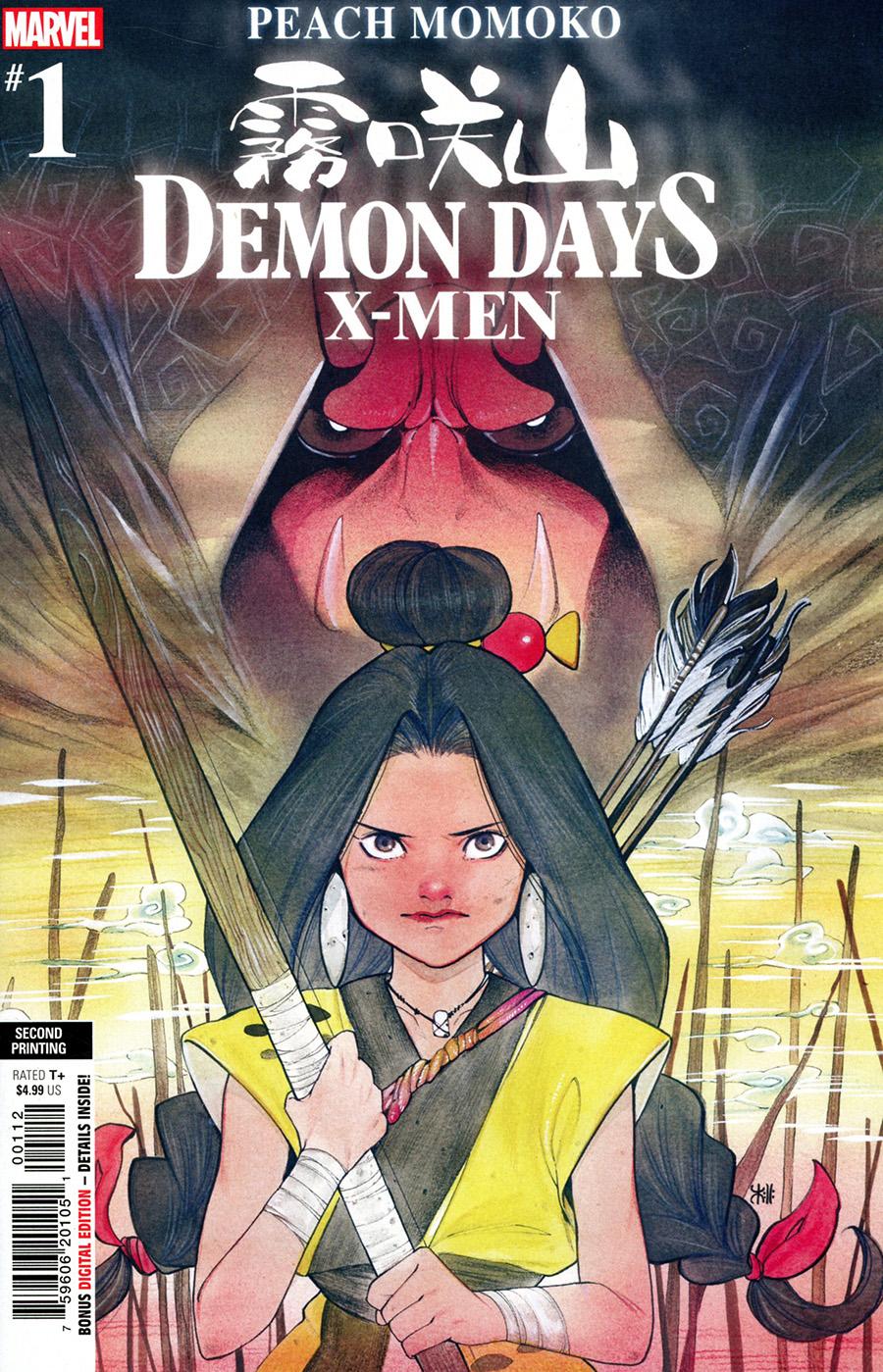 Demon Days X-Men #1 (One Shot) Cover J 2nd Ptg Peach Momoko Variant Cover